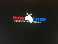 RIDE FREE  Shirt Black logo http://ridefree.com