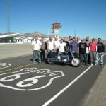 route 66 motorcycle tour on Harley Roys Diner