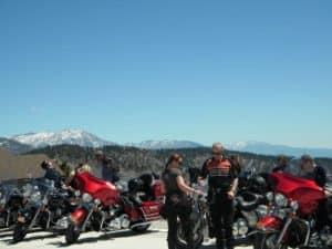 california mountain motorcycle tour