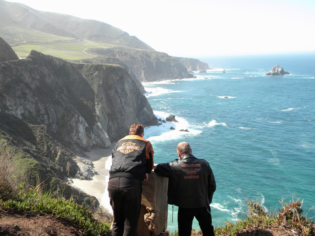 California Big Sur Motorcycle Tour