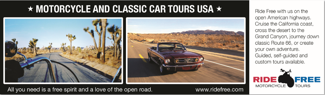 Self Guided Muscle Car Tour