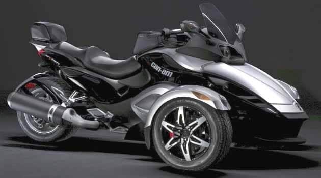 Harley-Davidson, Honda Goldwing, and BMW Motorcycle ...