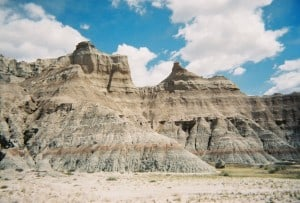 Badlands National Park Landscape Motorcycle Tour Sturgis