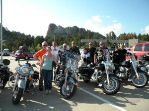 Sturgis Mount Rushmore Motorcycle Tour