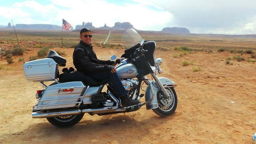 Harley Davidson Honda Goldwing And Bmw Motorcycle