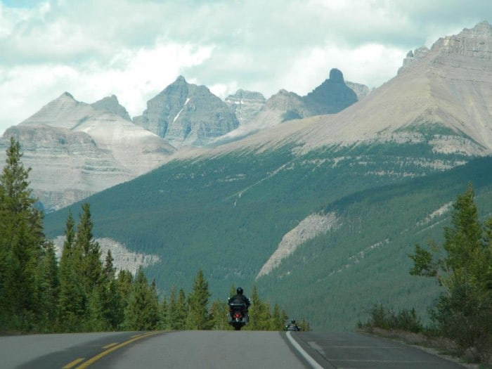 canadian rockies motorcycle tour