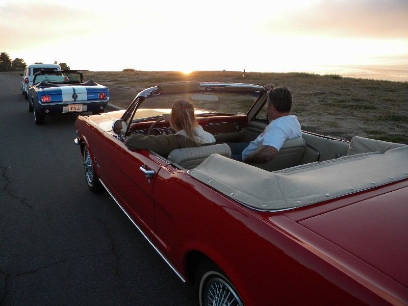 Classic Car Rental California Coast Guided Tour | Ride Free ...