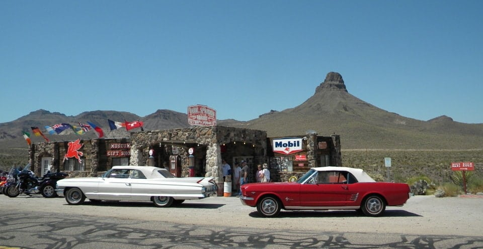 Old classic car rental las vegas