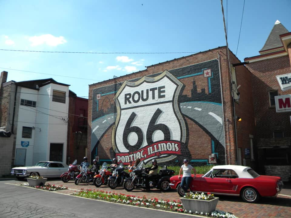 Classic Car Route Chicago To La Tour And Rental