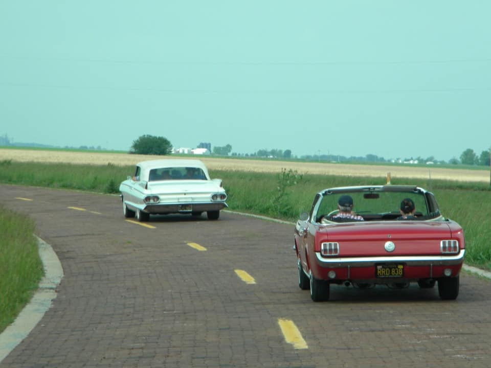 Classic Car Route 66 Chicago To La Tour Ride Free