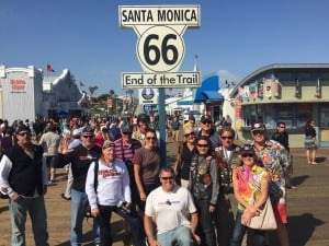 Route 66 Santa Monica Pier Motorcycle Tour