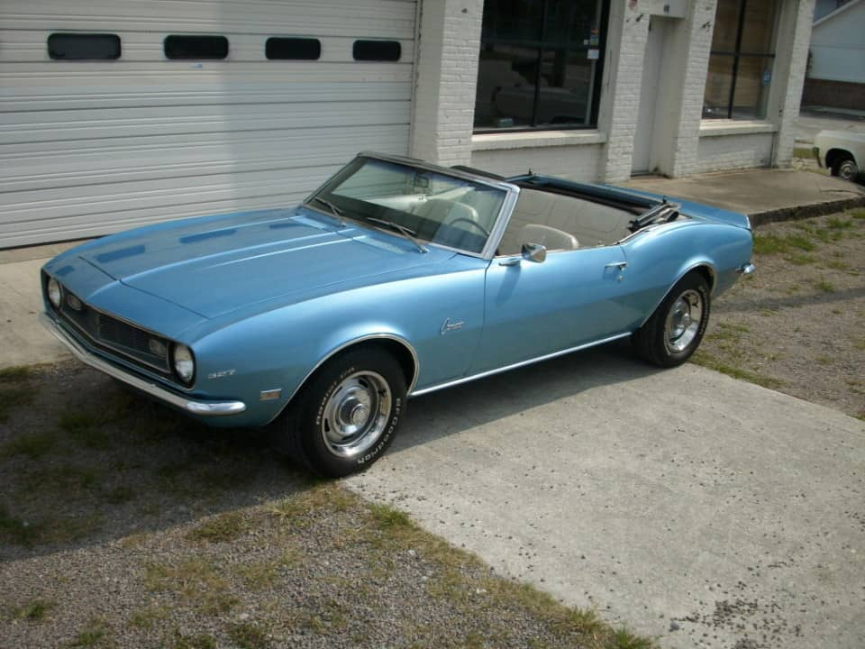 Rent a Chevy Camaro Convertible Classic Muscle Car