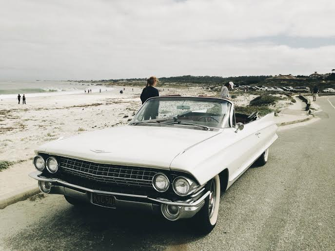 Classic Car Rental California Coast Guided Tour Ride Free