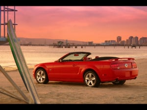 2005 Ford Mustang Convertible.