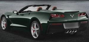 Rent Corvette Convertible